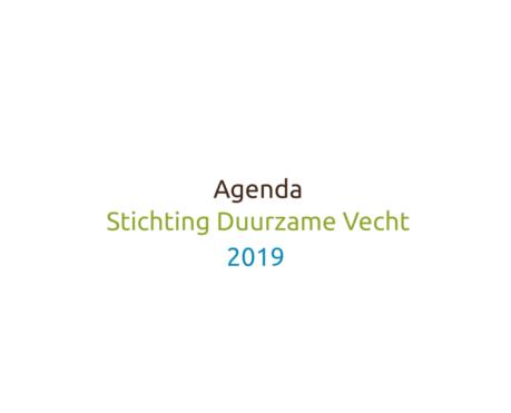 agenda-duurzamevecht 2019