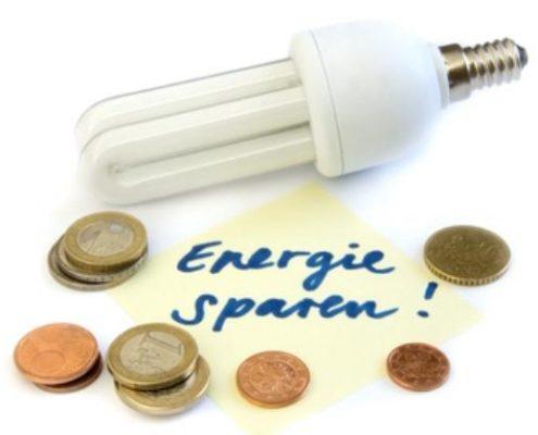 Energie besparen. Iedereen kan het